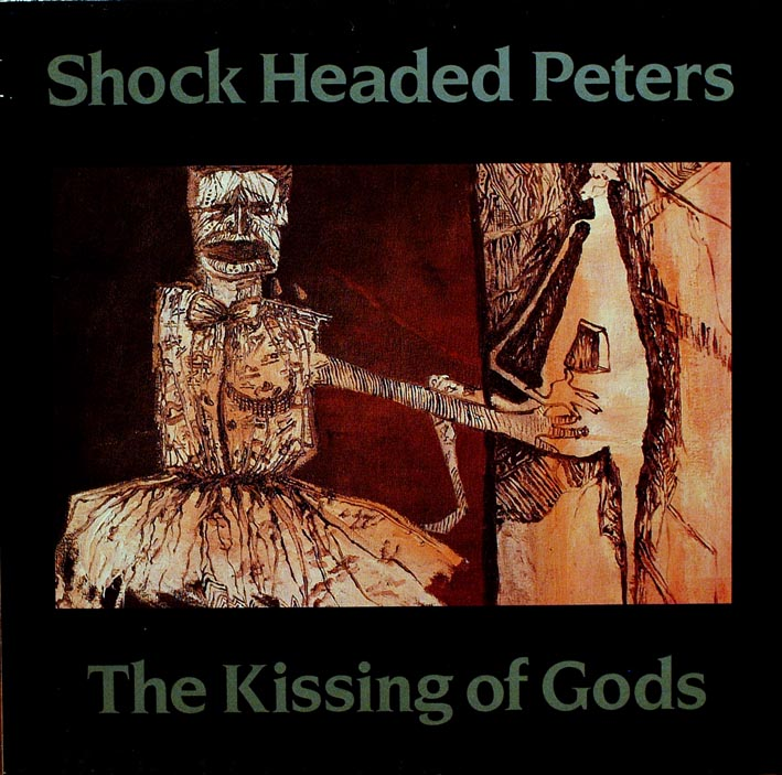 DANIELLE DAX SHOCK HEADED PETERS KISSING OF GODS COVER